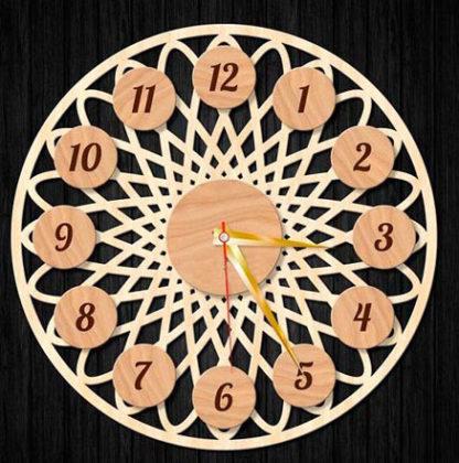 ch 003 416x420 - Часы настенные ч-003