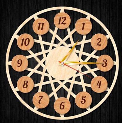 ch 004 416x420 - Часы настенные ч-004