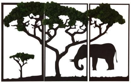 """slon 416x264 - Настенное декоративное панно """"Слон"""""""